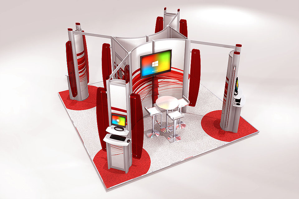 Common mistakes to avoid before hiring exhibition stand maker